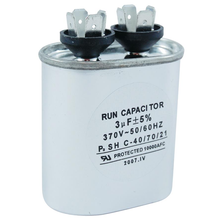 370V Oval Capacitor 3 MFD