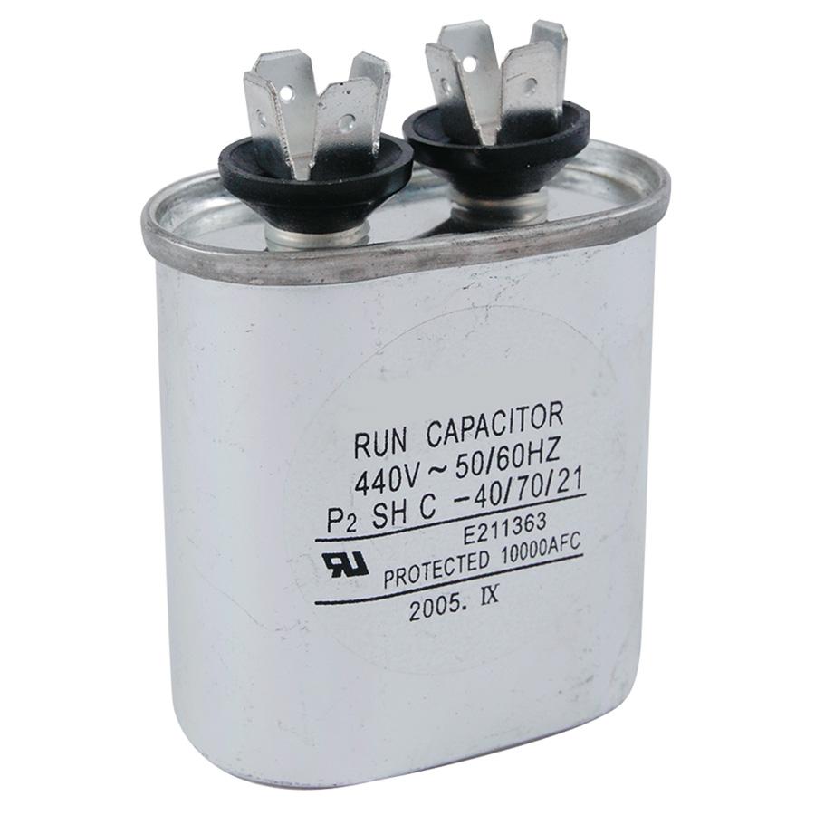 440V Oval Capacitor 10 MFD