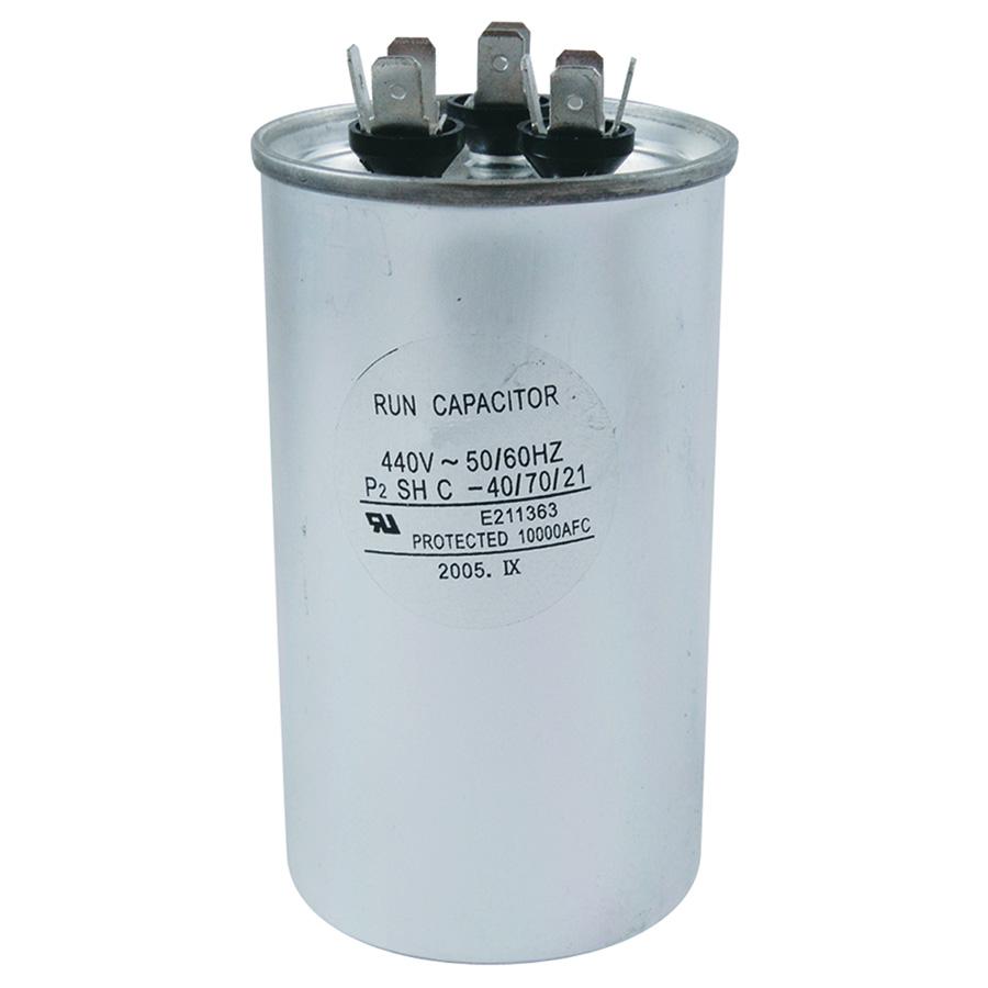 440V Round Dual Capacitor 30/3 MFD