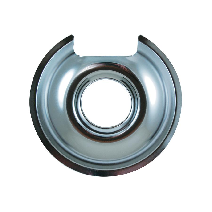 "Chrome-plated 6"" Universal Drip Pan"