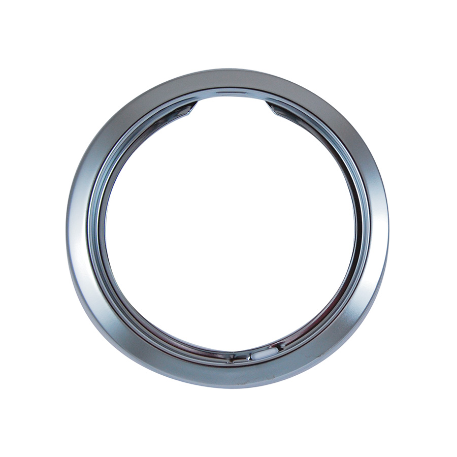 "Chrome-plated 8"" Universal Trim Ring"