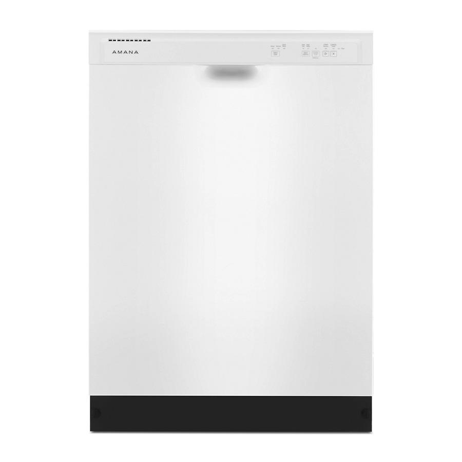 Amana White 3-Cycle Dishwasher