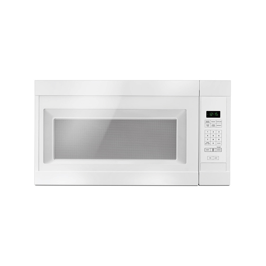 Amana White 1.6 cu ft capacity Over-The-Range Microwave