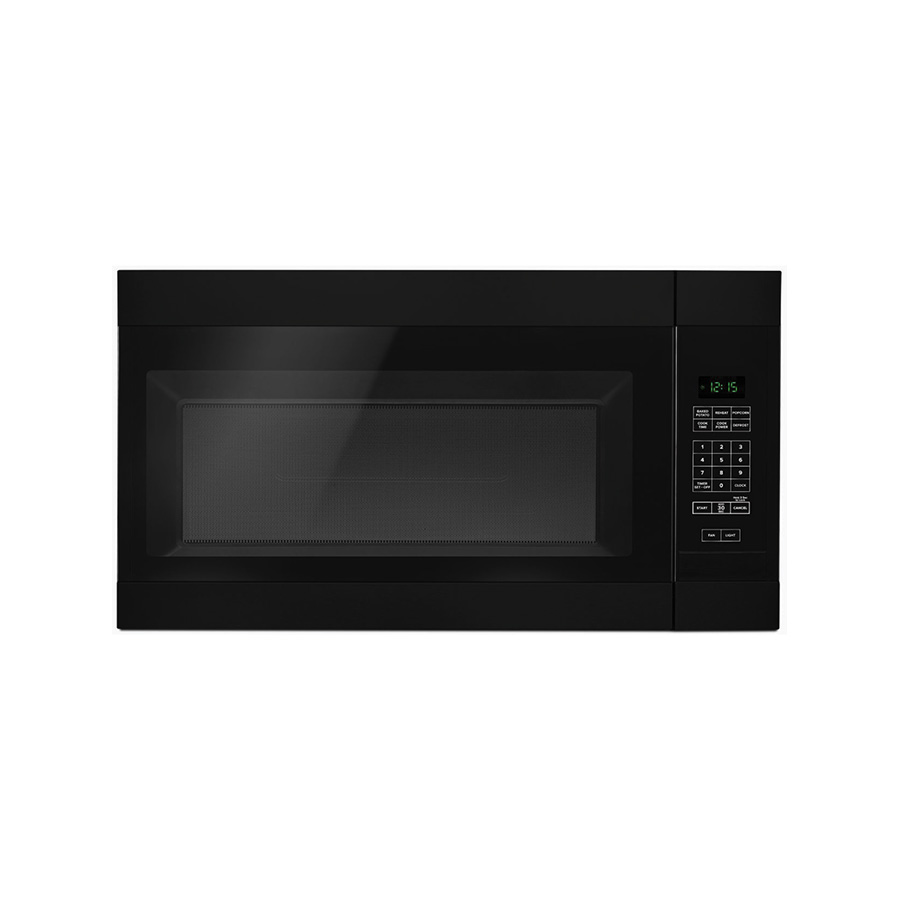 Amana Black 1.6 cu ft capacity Over-The-Range Microwave