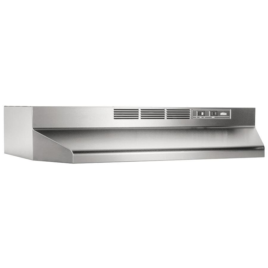 """30"""" Stainless Ductless Range Hoods"""