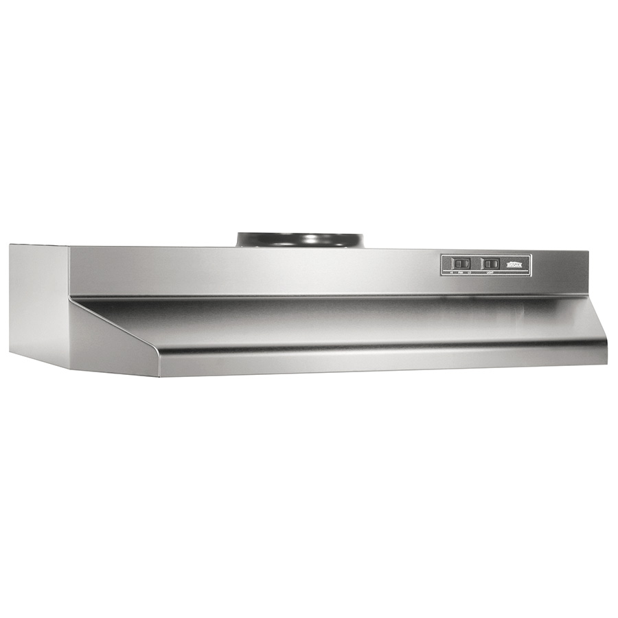 "30"" Stainless Round Ducted Range Hoods"