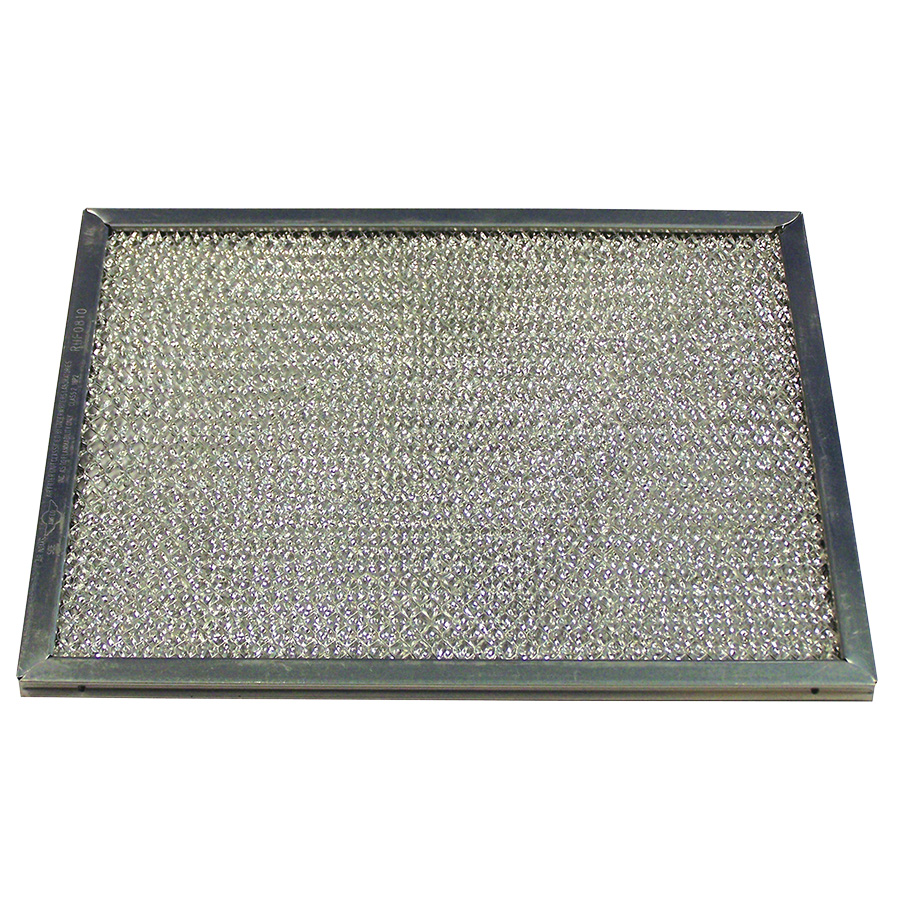 "Aluminum Range Hood Filter 10-1/2"" x 8-3/4"" x 3/32"""