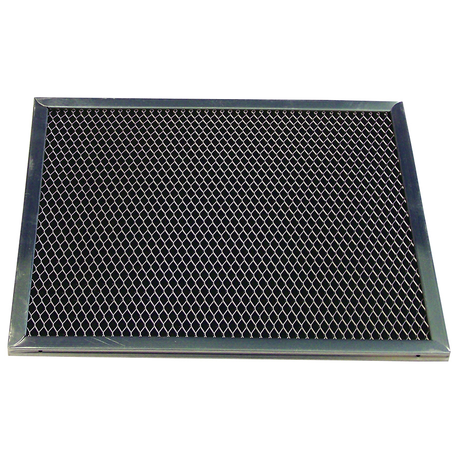 "Charcoal Range Hood Filter 9-1/2"" x 8"" x 3/8"""