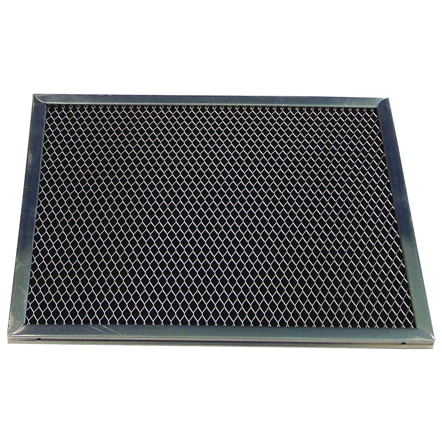 "Charcoal Range Hood Filter 11-3/8"" x 10-3/8"" x 3/8"""
