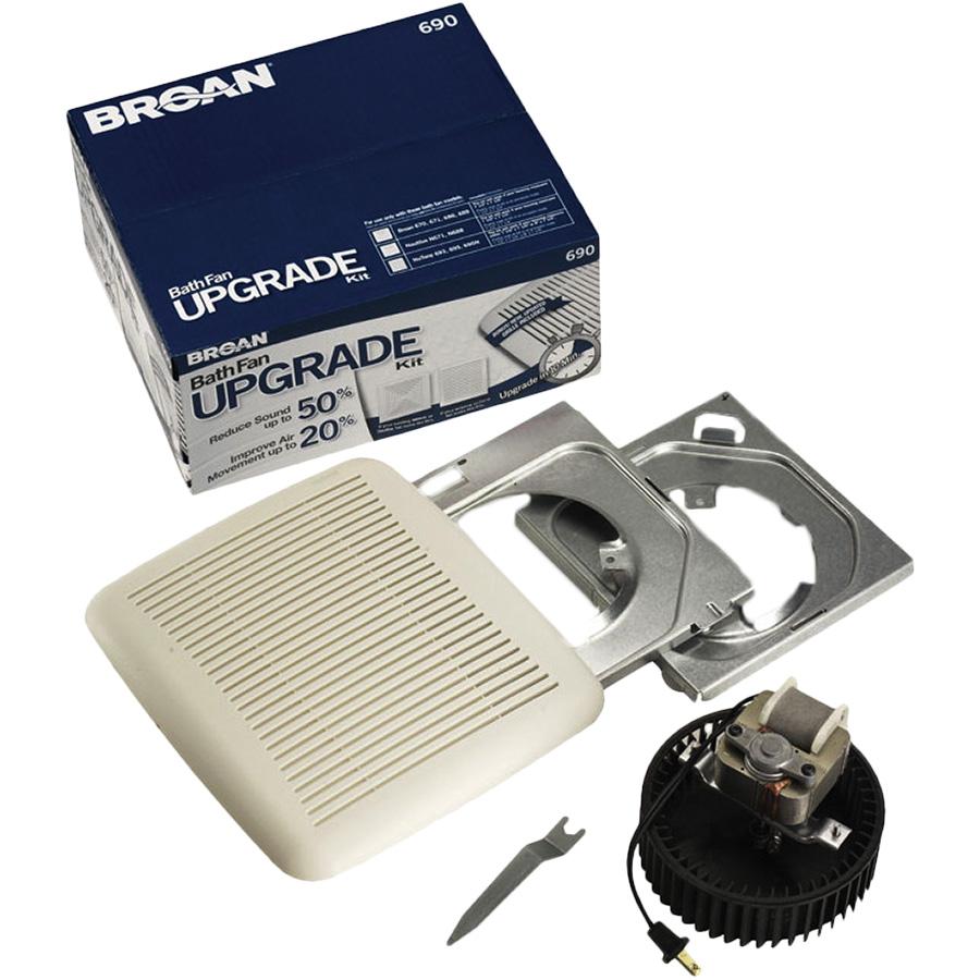 Broan 60 CFM Bath Fan Upgrade Kit