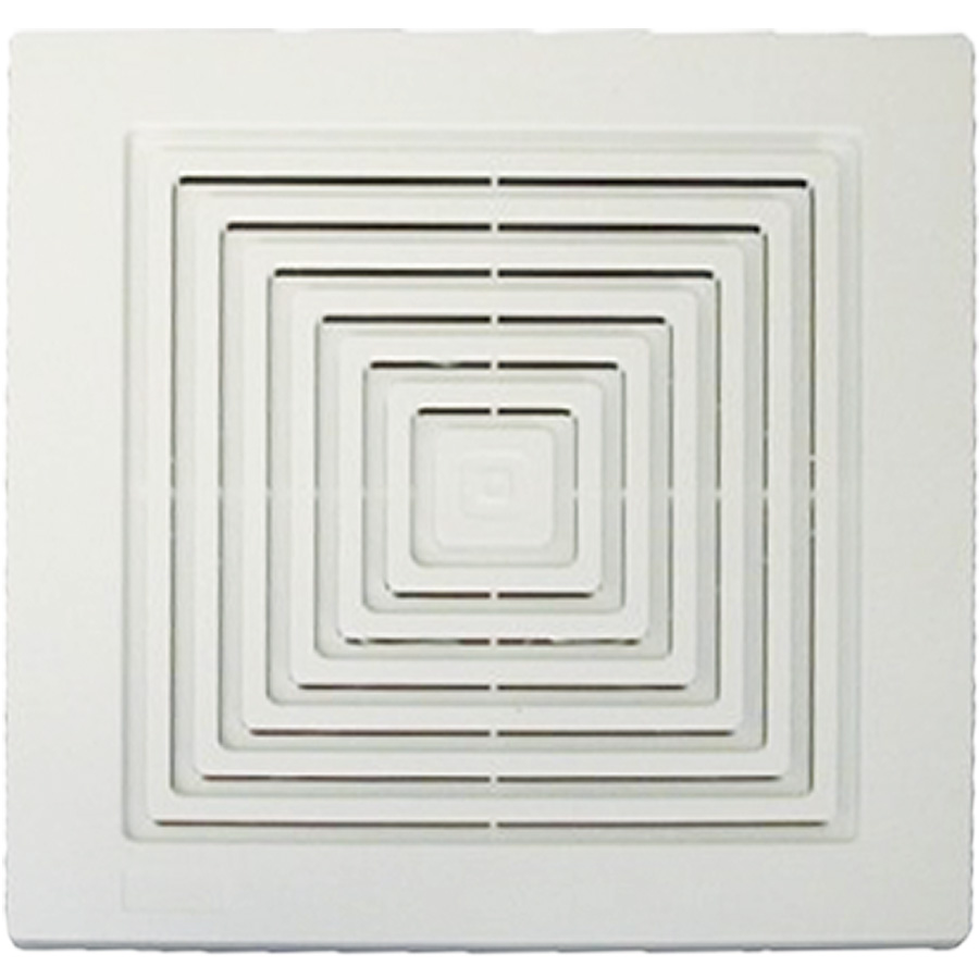 "Broan 11-1/2"" x 11-1/2"" Bath Exhaust Fan Replacement Grille"