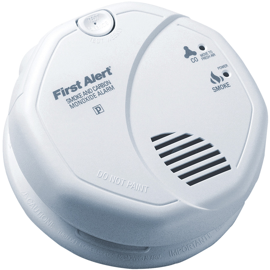 BRK Smoke/CO Alarm 120V with Battery Back-Up & Voice