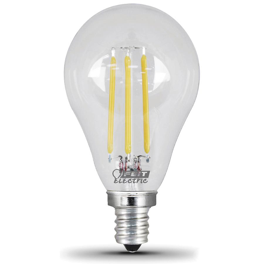A15 Filament LED Bulb Replaces 60W 2700K Candelabra Base