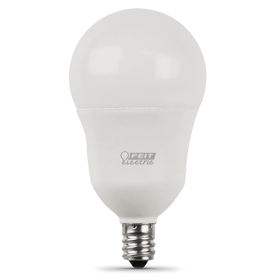 A15 Filament LED Bulb Replaces 40W 2700K Candelabra Base CEC