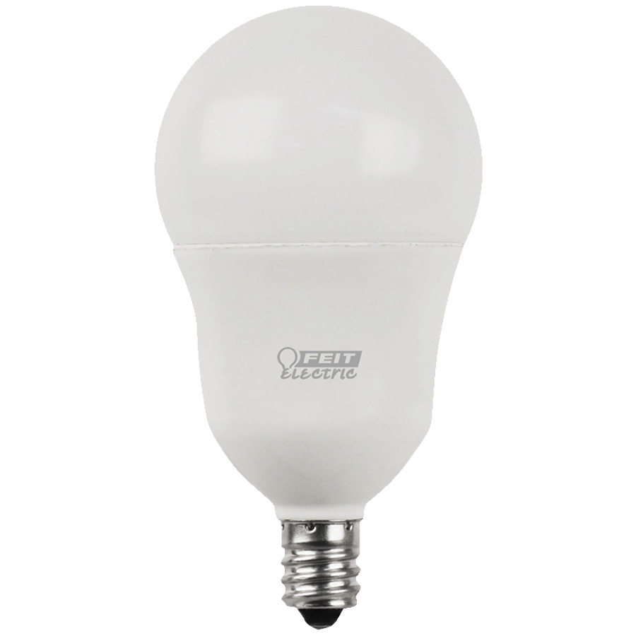 A15 Filament LED Bulb Replaces 40W 5000K Candelabra Base CEC