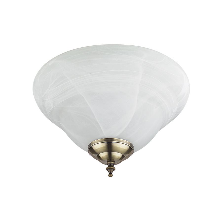 Alabaster Bowl Ceiling Fan Light Kit