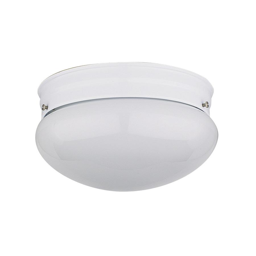 "8"" Mushroom Ceiling Fixture White"