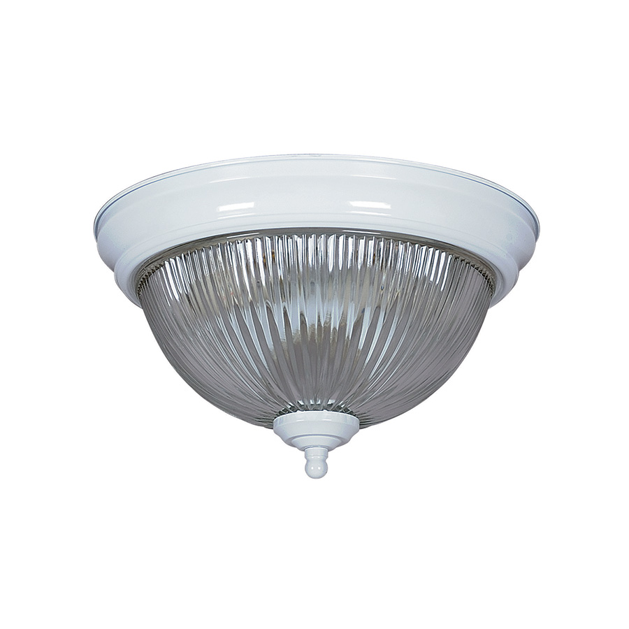 """13"""" Ceiling Dome Fixture 2-Bulb White"""