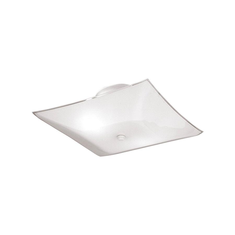 "12"" Bent Glass Ceiling Fixture"
