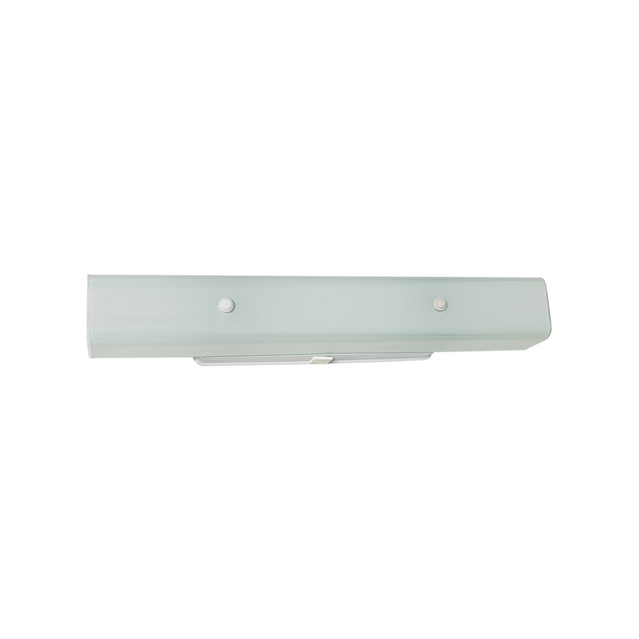 "24"" Channel Glass Fixture White"