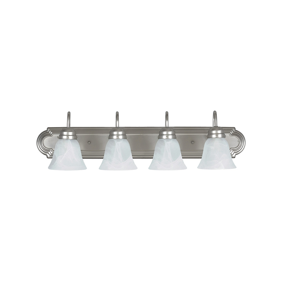 "30"" 4-Light Satin Nickel Vanity fixture"