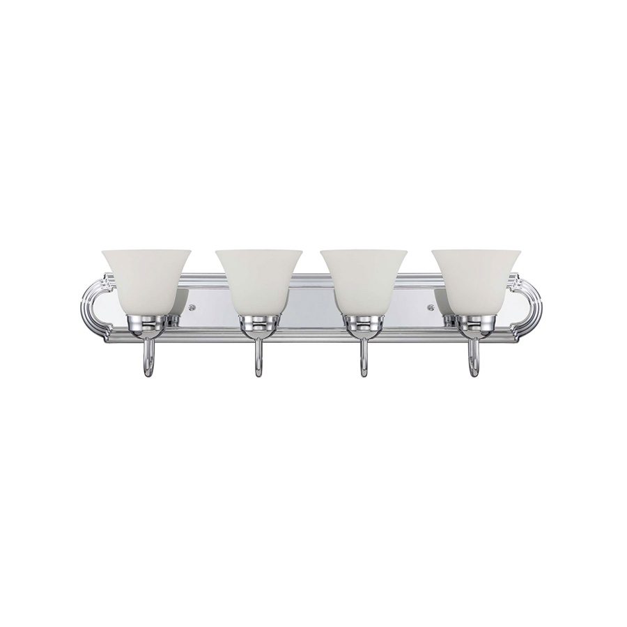 "30"" 4-Light Chrome Vanity fixture"