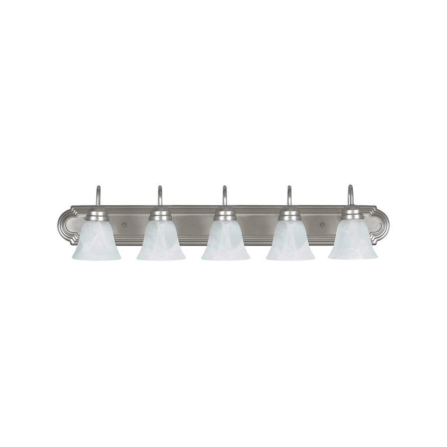 "36"" 5-Light Satin Nickel Vanity fixture"