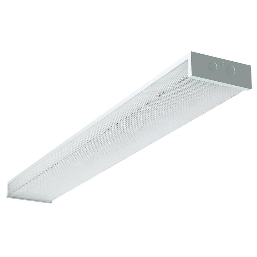 2-Bulb Fluorescent Wrap Fixture White