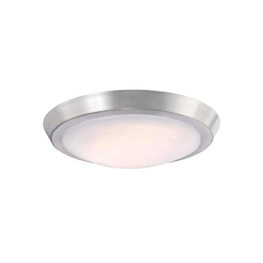 """11"""" LED Ceiling Fixture Brushed Nickel"""