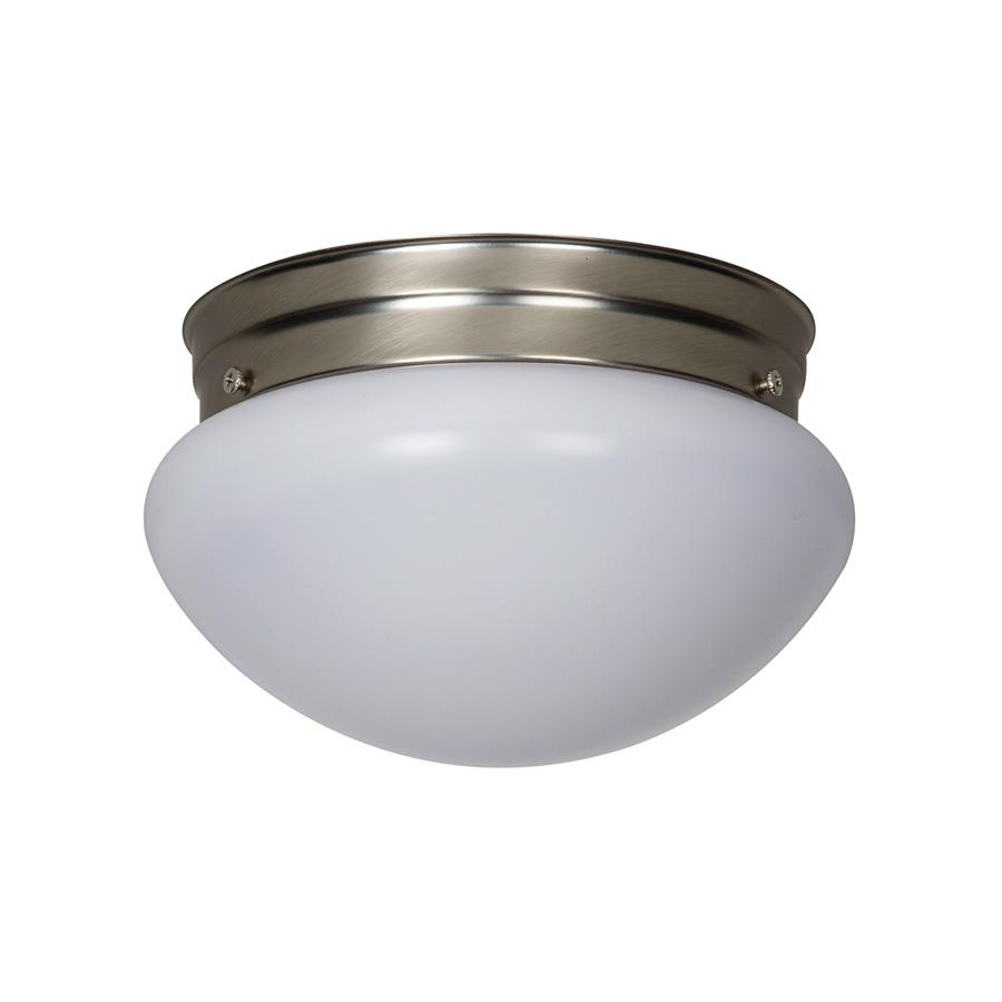 "6"" LED Mushroom Ceiling Fixture White Globe"