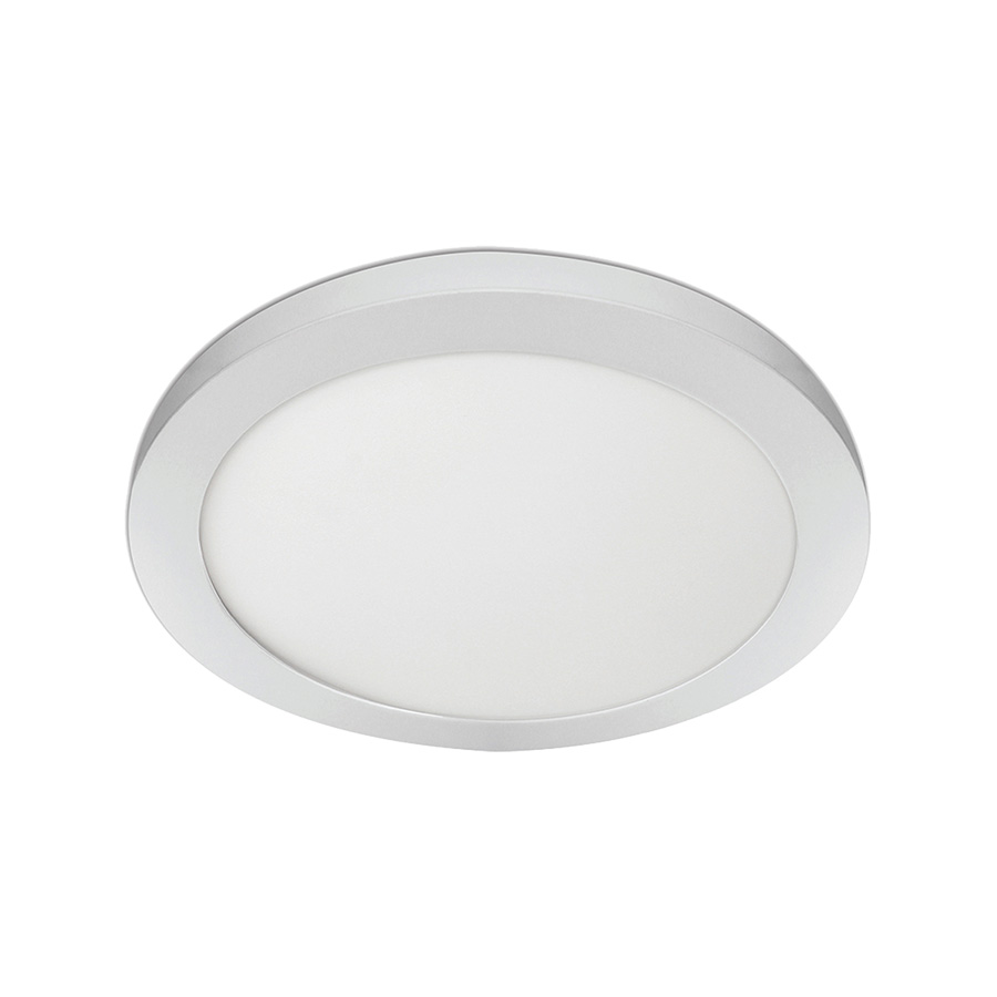 """11"""" LED Round Flat-Panel Fixture White"""