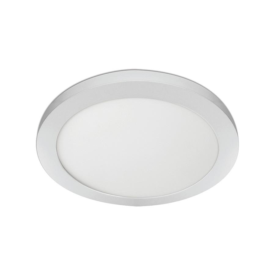 """15"""" LED Round Flat-Panel Fixture White"""