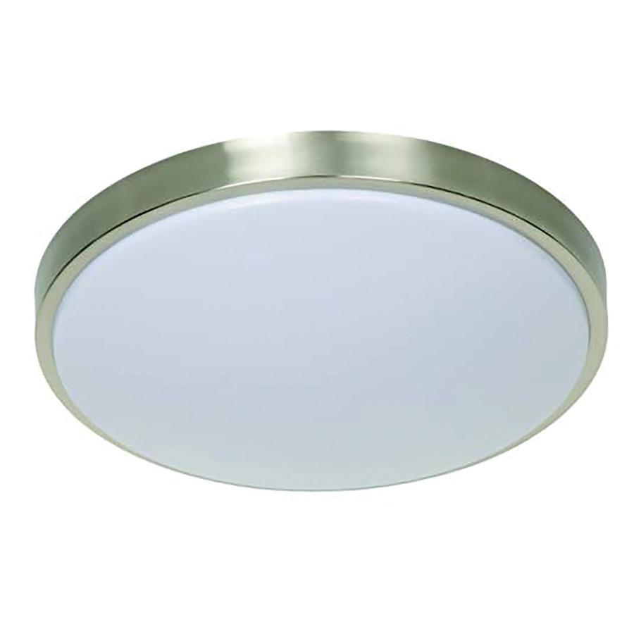 "14"" LED Round Ceiling Fixture Satin Nickel"