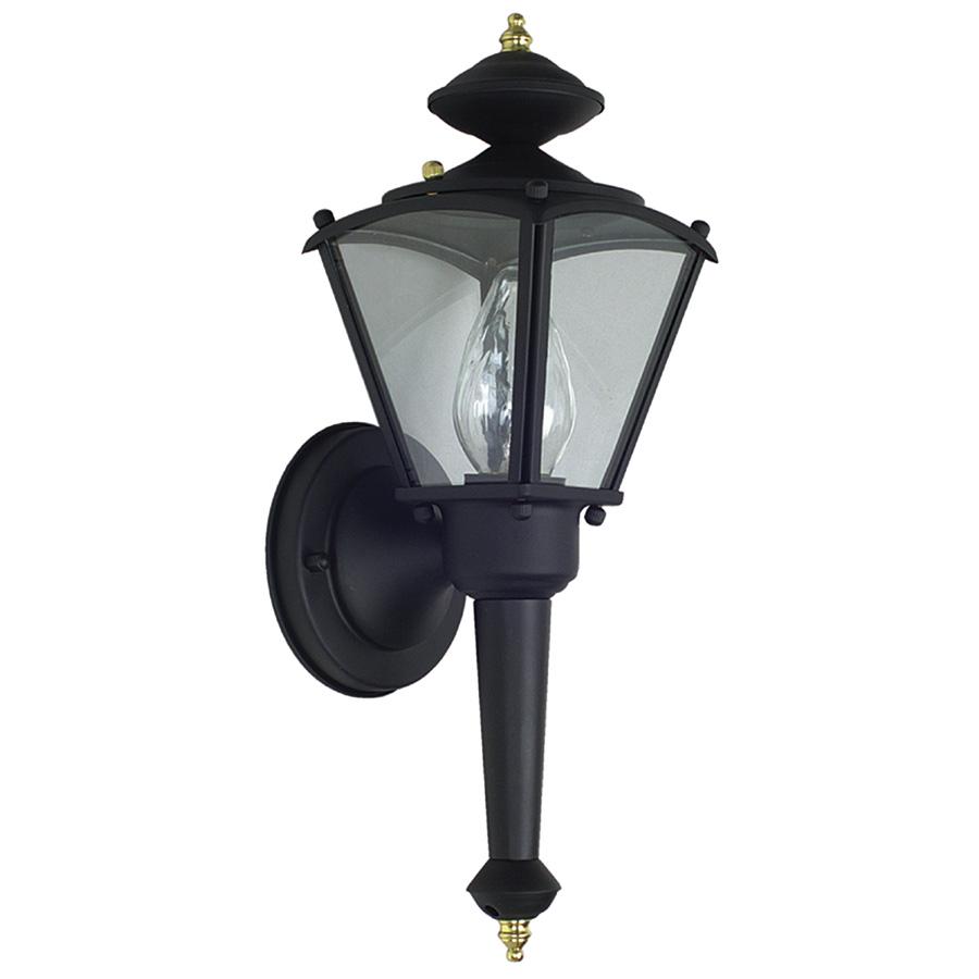 Black Solid Brass Lantern Fixture