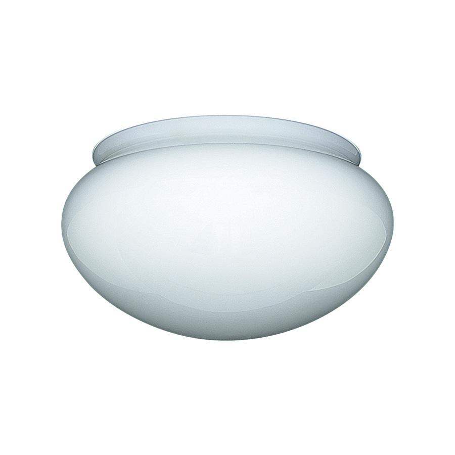 "9"" Opal Mushroom Fixture Glass"