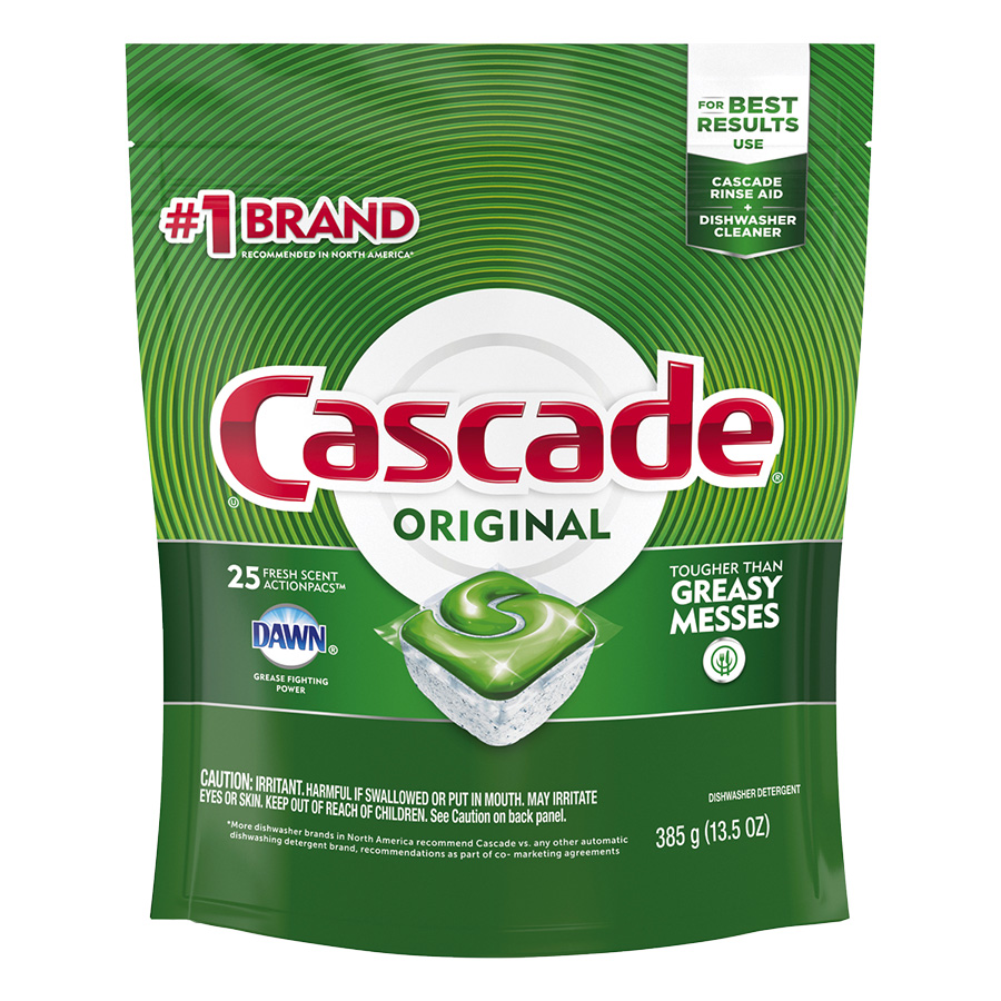 Cascade Dishwasher Action Pacs 25/Pk