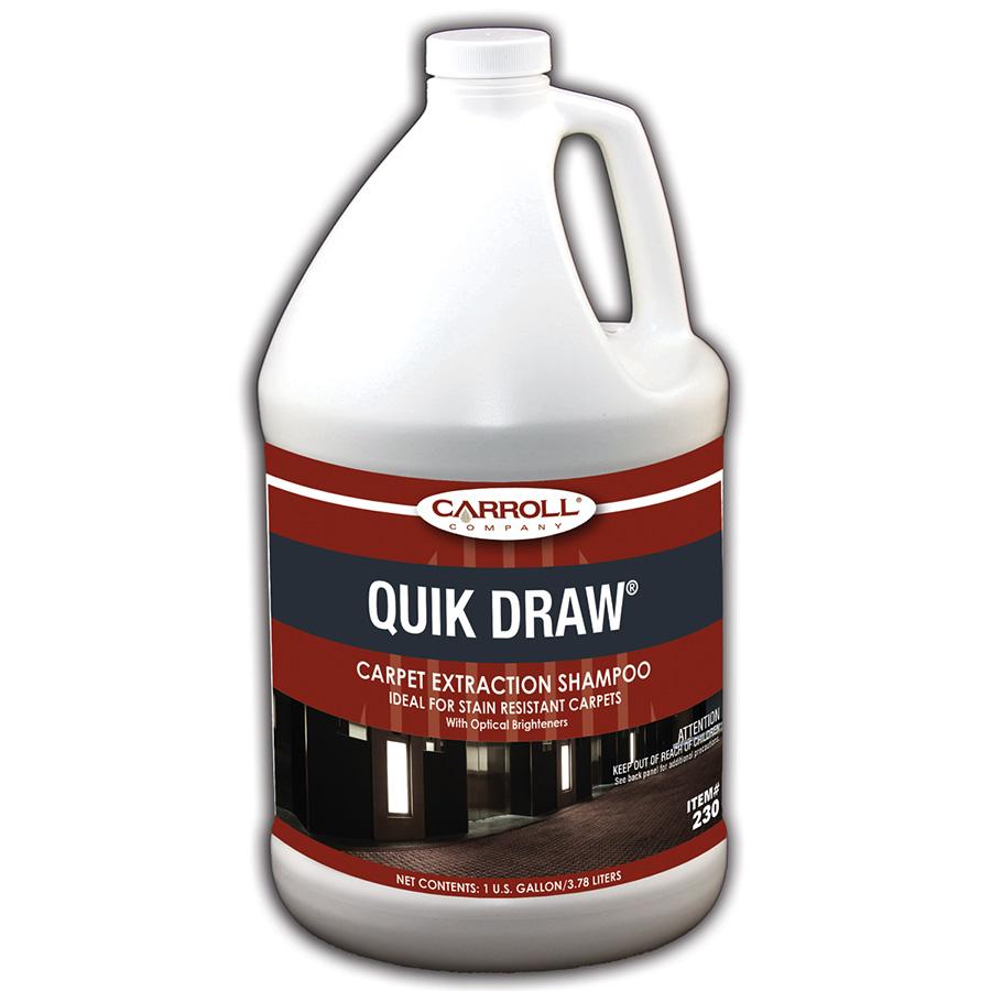 CarrollCLEAN Quik Draw Carpet Shampoo Gallon
