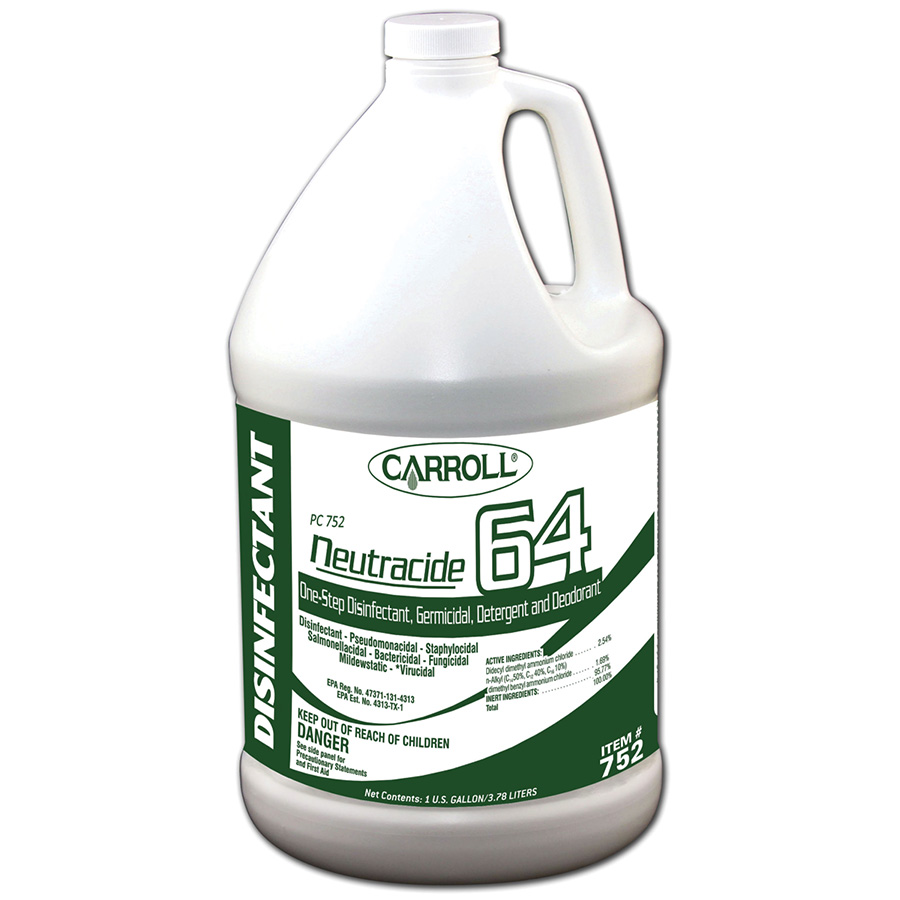 CarrollCLEAN Neutracide 64 Disinfectant Gallon