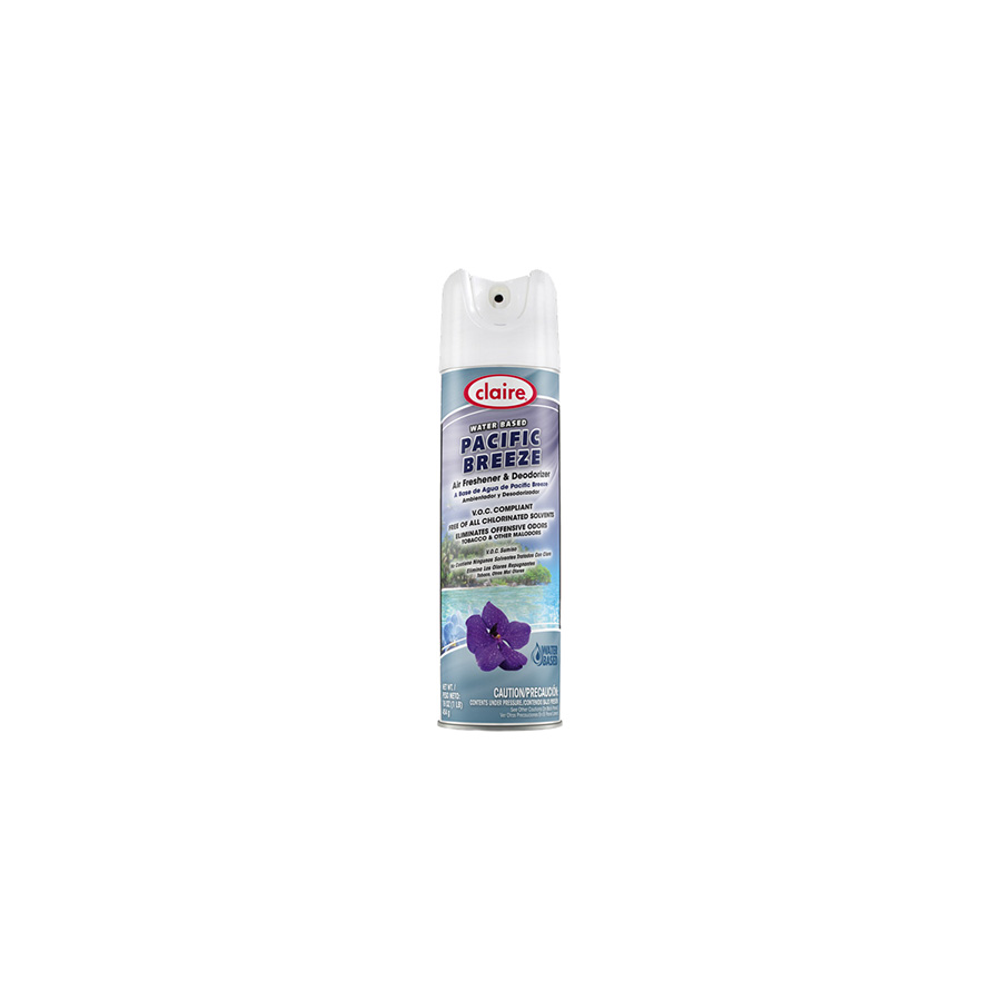 Claire Pacific Breeze Air Freshener and Odor Eliminator