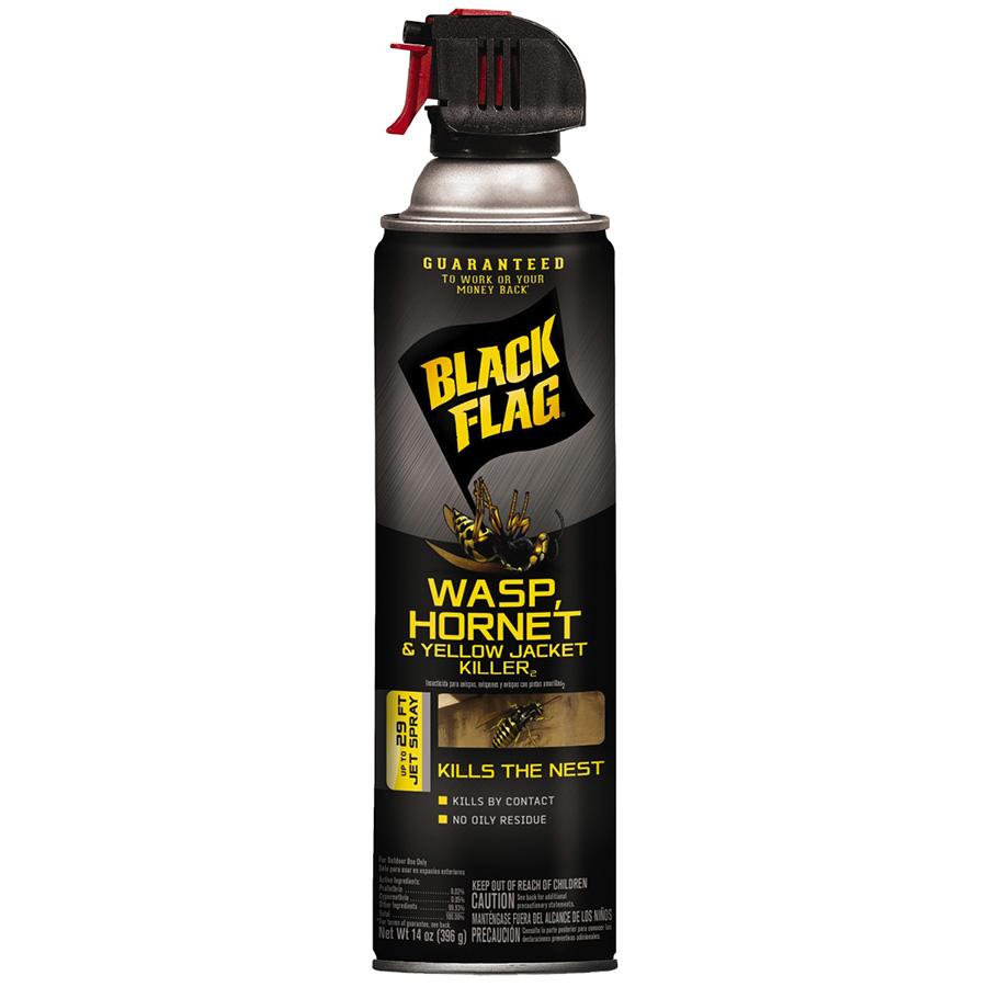 Black Flag Wasp, Hornet and Yellow Jacket Killer