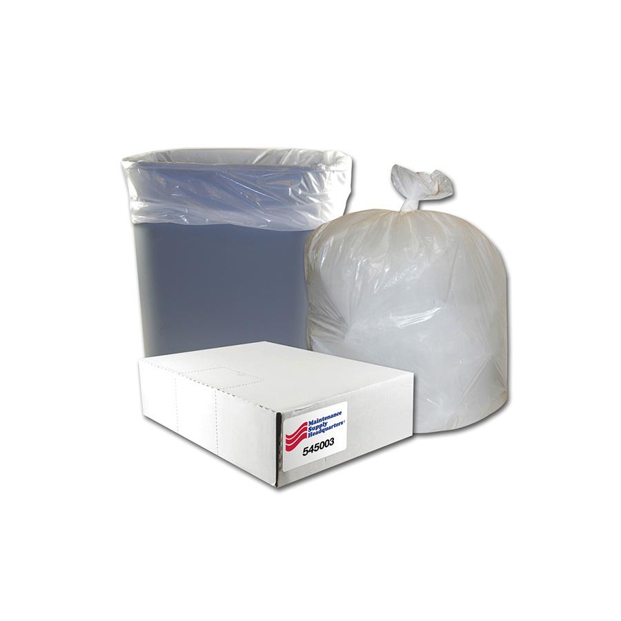 12-16 Gallon Standard Duty Low Density Trash Bag Box of 500