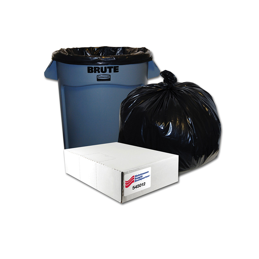 34-45 Gallon Supreme Outdoor Low Density Trash Bag Box of 100