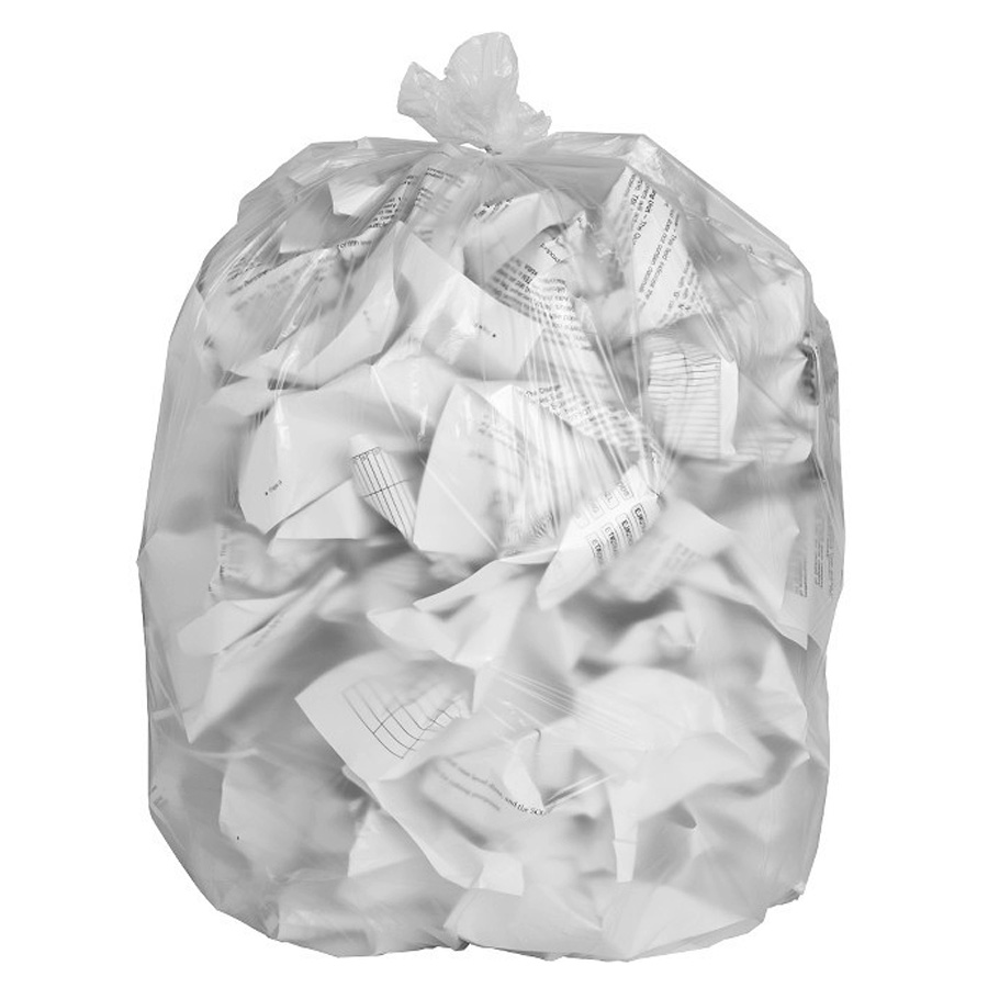 7-10 Gallon Heavy Duty Low Density Trash Bag Box of 1000