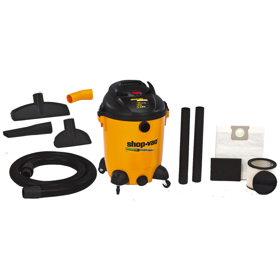 14-Gallon Wet/Dry Vacuum