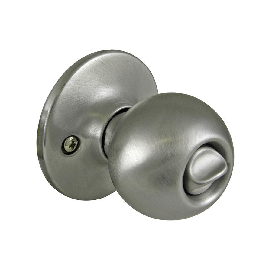 Ball Privacy Knob Satin Nickel