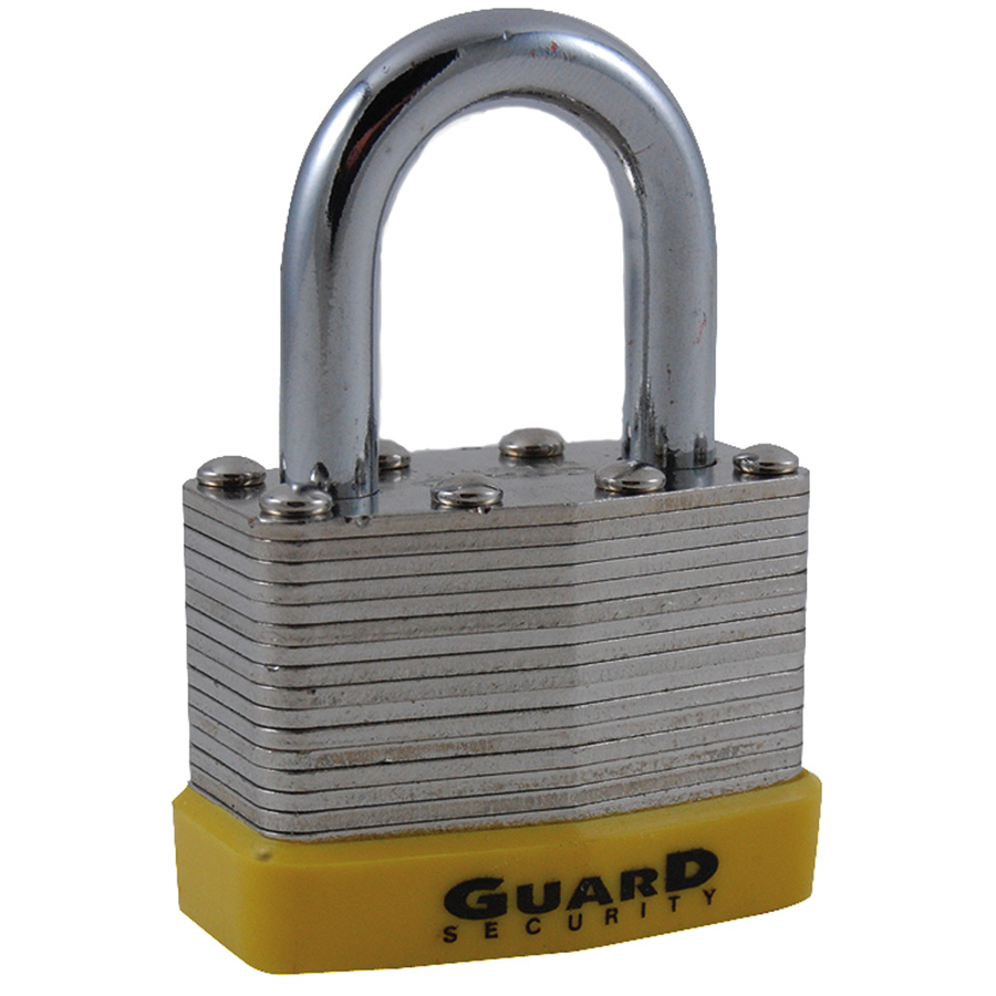 "1-3/4"" Laminated Steel Padlock Keyed Differently"