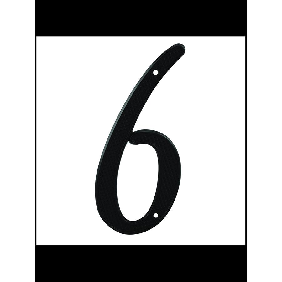 """4"""" Numbers Black """"6/9"""""""