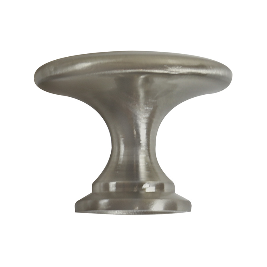 Bifold Knob Satin Nickel 1-3/4""