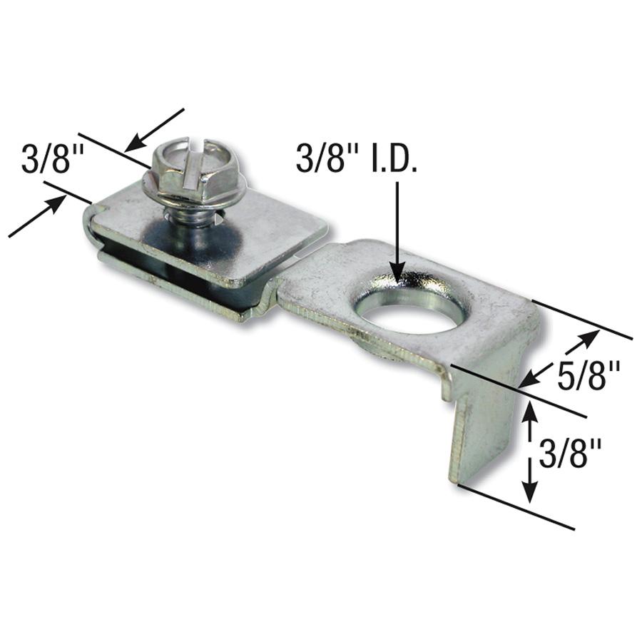 Bifold Door Adjustable Pivot Bracket