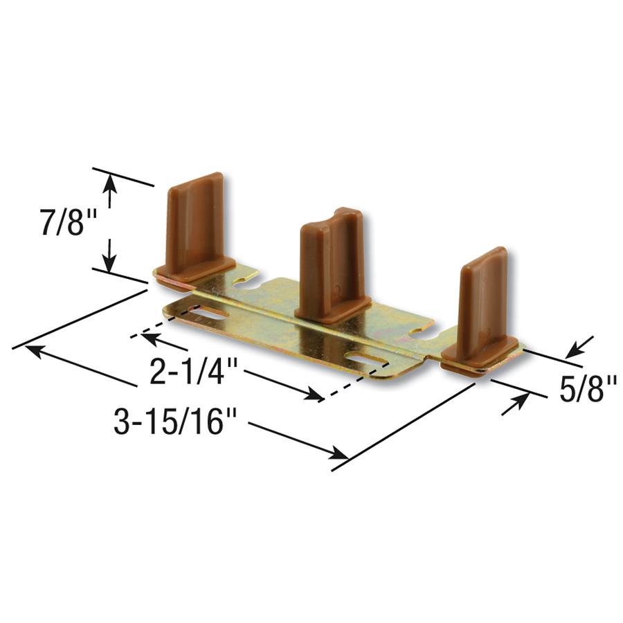 Bypass Adjustable Floor Guide